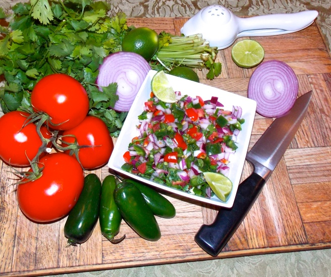 Pico de Galla and ingredients
