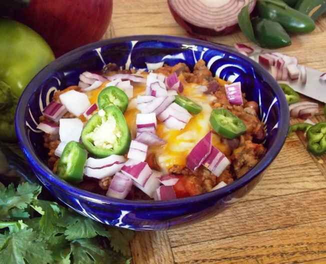 Glover Gardens Chili is quick, easy, fresh and healthy.