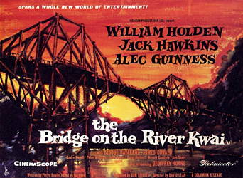 The Bridge on the River Kwai was a recent smorgasbord movie choice. It never gets old.