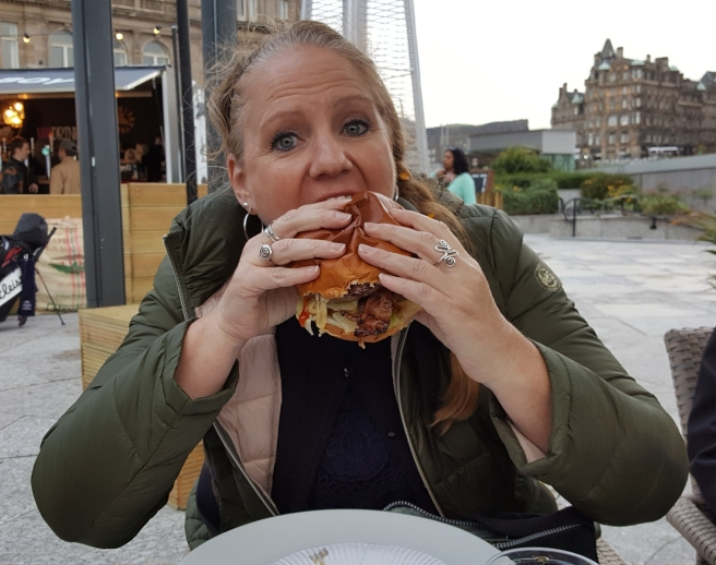 Tammy Eats Butcher Bad Boy Burger