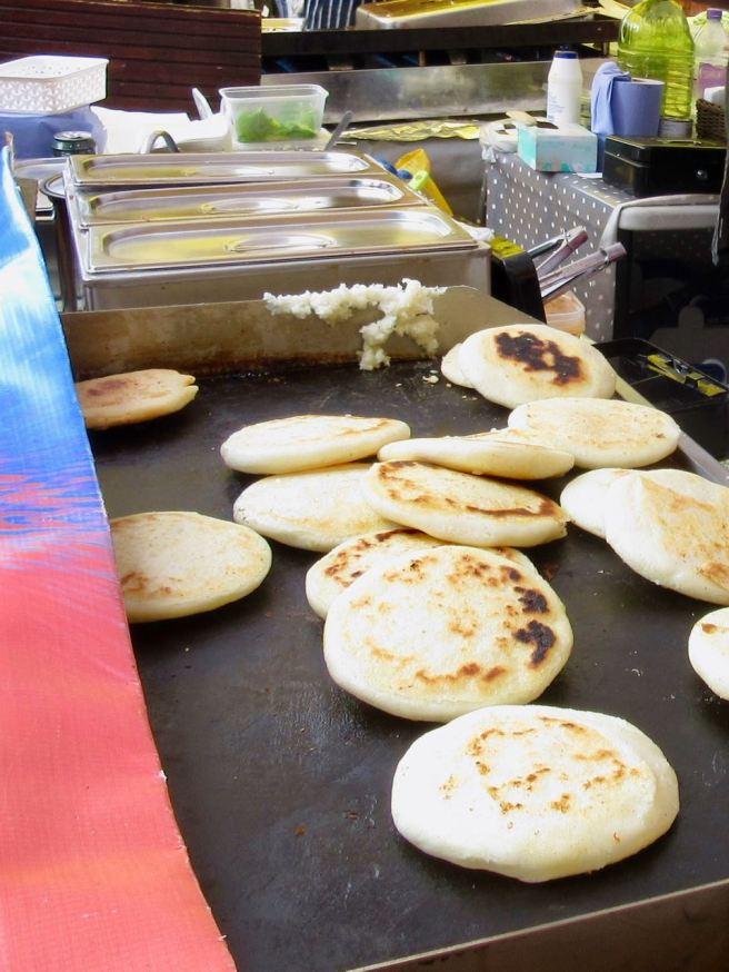Arepas Cooking