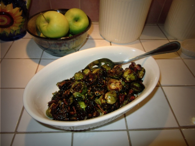 Bacon Jam Brussels Sprouts